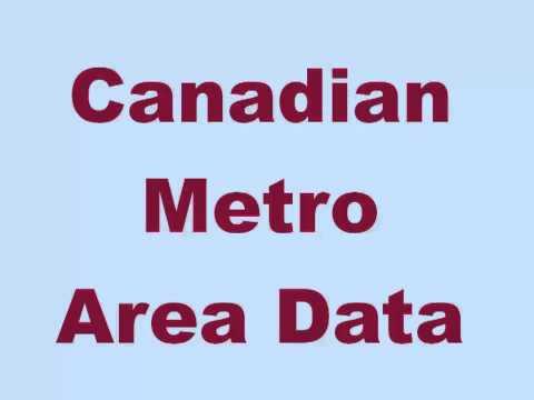 Canadian Metropolitan Areas per Postal Code