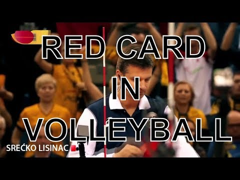 Red Card in Volleyball-Angry Moments