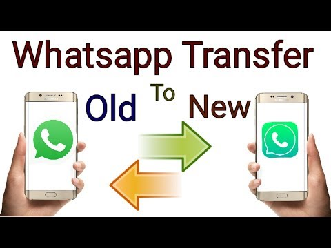 How To Transfer Your Whatsapp Old Phone To New Phone (hindi)