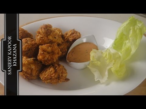 Cornflakes Crusted Chicken Nuggets | Sanjeev Kapoor Khazana