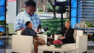 Ellen Meets Incredible Kid Reporter Jaden Jefferson