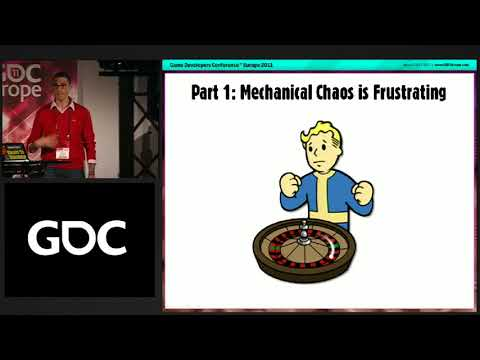GDC Europe 2011: The Evolution of RPG Mechanics: From Die Rolls to Hit Volumes