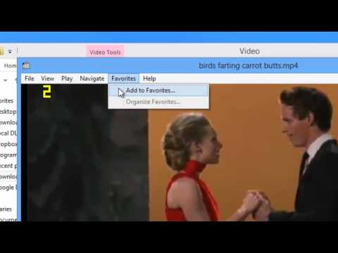 Bookmarking a Video for later in Media Player Classic