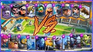 ¡¡ LEGENDARIAS vs COMUNES !! DUELO DE CARTAS EN CLASH ROYALE - w/ MrInvictus!!