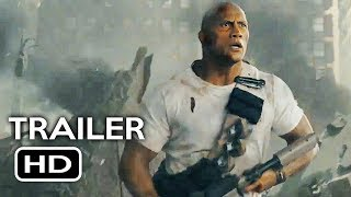 Rampage Official Trailer #2 (2018) Dwayne Johnson Monster Action Movie HD