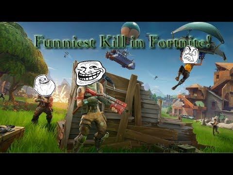 Funniest WIN in Fortnite Battle Royale!