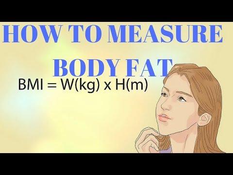How To Measure Body Fat | HOW TO MEASURE BODY FAT