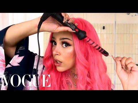 Doja Cat's Guide to E-Girl Beauty   Beauty Secrets   Vogue