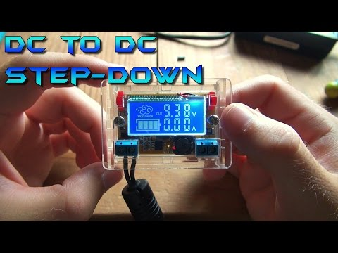 DC to DC Step-down Voltage Converter Kit Review