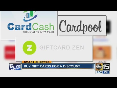 Buy gift cards for a discount