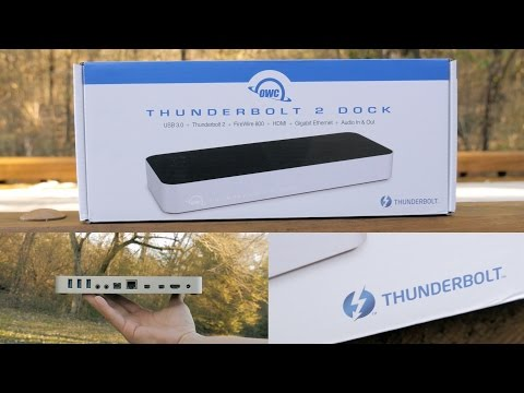 Best Mac Dock Ever? OWC Thunderbolt 2 Dock Unboxing and Review!