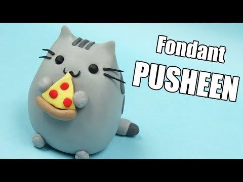 PUSHEEN tutorial! How to make Pusheen figurine