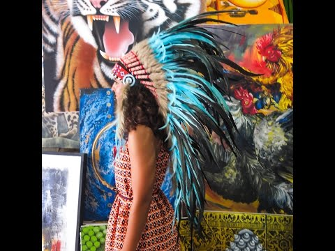Feather Headdress as a Fashion Statement - Indian Headdress