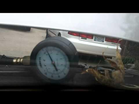 1993 Honda Accord EX Coupe Fuel Pressure Test