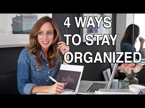 GET ORGANIZED! Back to School and Life Tips