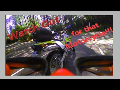 FPV Flight and DRZ400s Ride