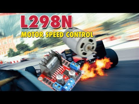 Arduino Control  DC Motor Speed with L298N module