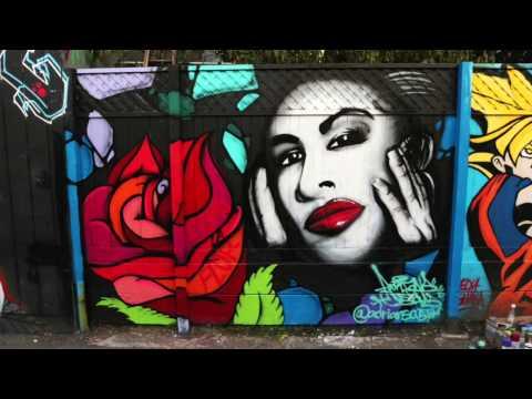 Selena mural San Francisco