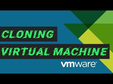 Clone vmWare Virtual Machine