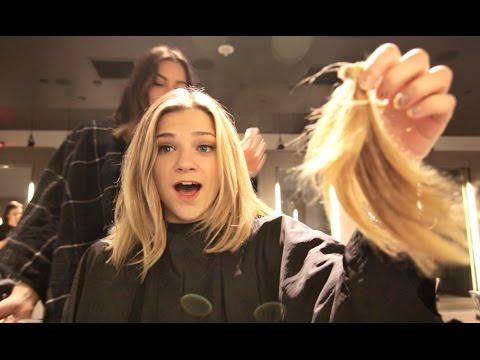 CHOPPING ALL MY HAIR OFF!