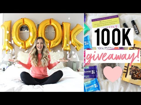 100K SUBSCRIBERS GIVEAWAY! :)
