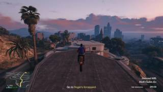 Grand Theft Auto V Rooftop Stunt