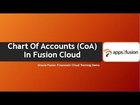 Create Chart Of Accounts (CoA) In Oracle Fusion Cloud