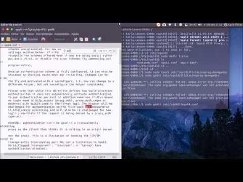 Proxy Squid3 ubuntu 15.04