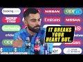 Virat Kohli We39re Sad But Not Devastated After Losing Semi Final INDvNZ CWC 2019