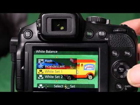 Manual White Balance Set Up For Panasonic Lumix Cameras