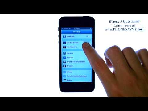 Apple iPhone 5 - iOS 6 - How do I Increase Email Inbox Messages Amount