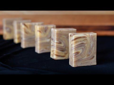 Wood Grain Soap using the Spinning Swirl