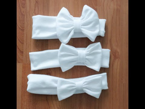 Toddler Bow Headband - Tutorial