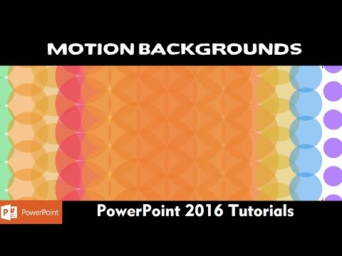 Flower of Life Animation | Motion Background in PowerPoint 2016 Tutorial | Part - 2