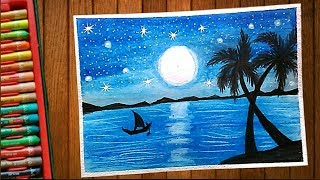 Pond Scenery Drawing Videos 9tube Tv