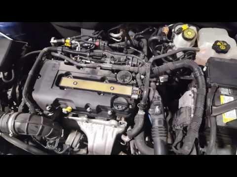 2012 Chevy Cruze valve cover vacuum leak