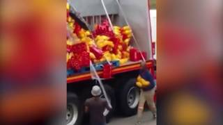 Butterworth community caught on camera looting truck
