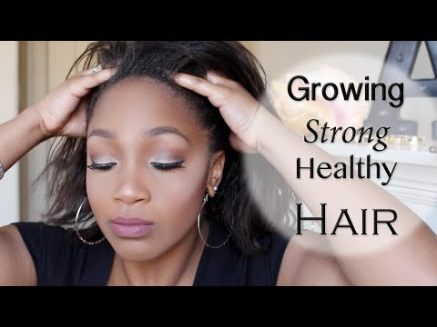 Tips on Growing Strong HEALTHY Hair | Thicken your Hair