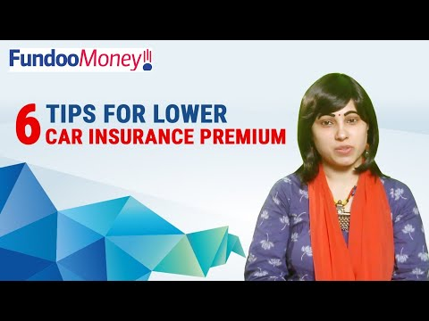 6 Tips For Lower Car Insurance Premium