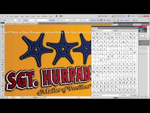 how to study adobe illustrator cs6 1811 Small caps and the Glyphs panel
