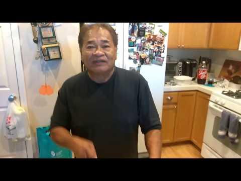 Making Chopped Grilled Chicken Kelaguen Mannok - Hafa Adai - Guam