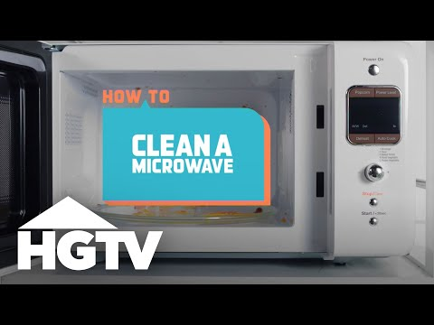 How to Clean a Microwave - How to House - HGTV