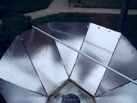 DIY Solar Oven 60/40 Design *340degrees reached! :O)*