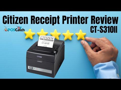 Citizen CT-S310II Receipt Printer Review