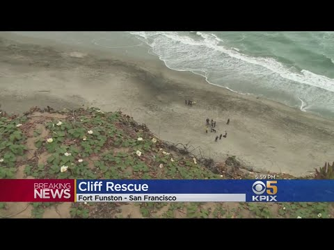 Man, Dog Tumble Off Cliff At Fort Funston in SF