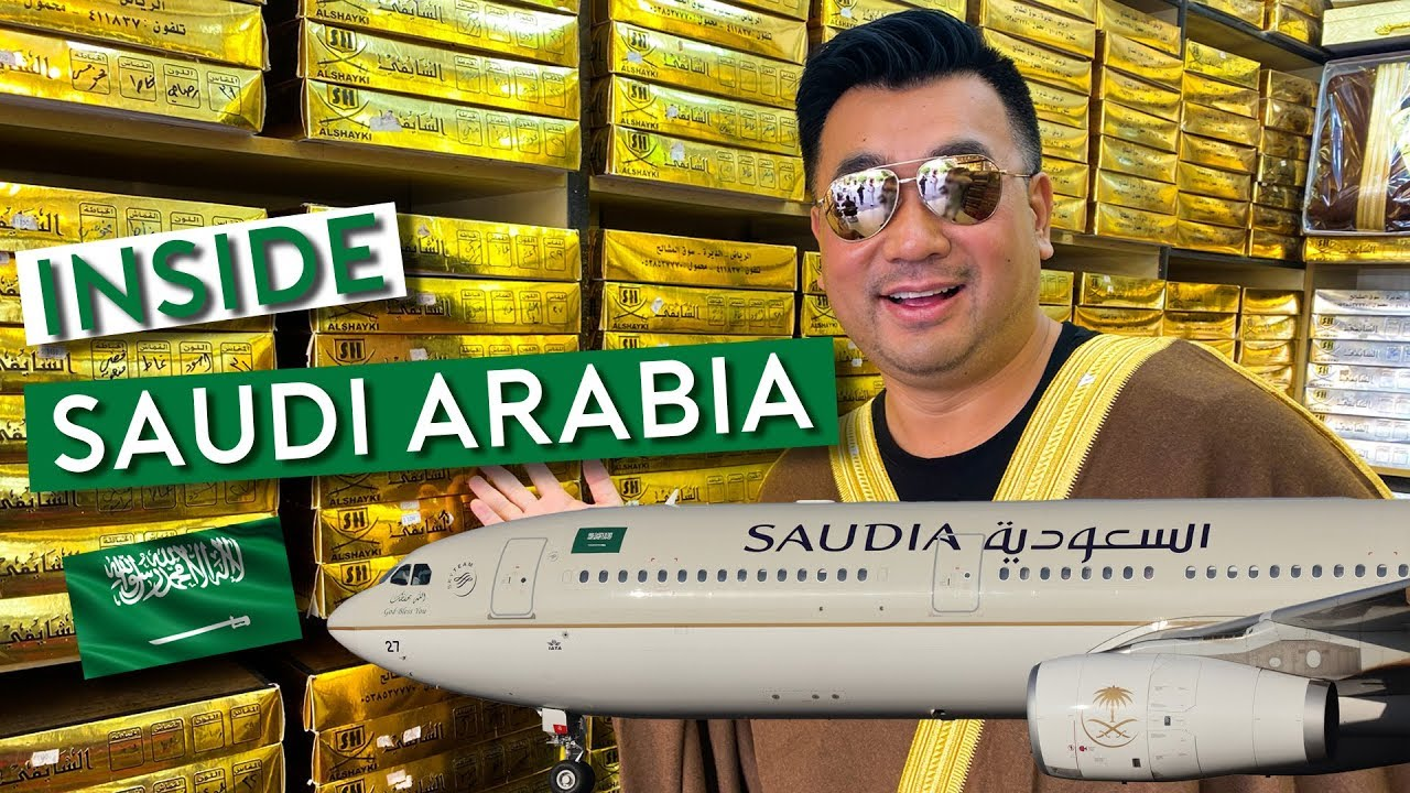 Flying Saudia - Uncover Saudi Arabia as a Tourist 🇸🇦 ترجمة عربية