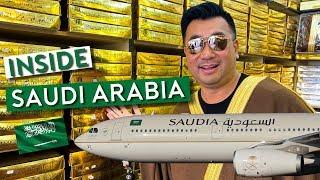 Flying Saudia to Riyadh - Inside the Kingdom of Saudi Arabia (Vlog 1)