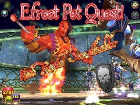 Wizard101: Efreet Pet Quest