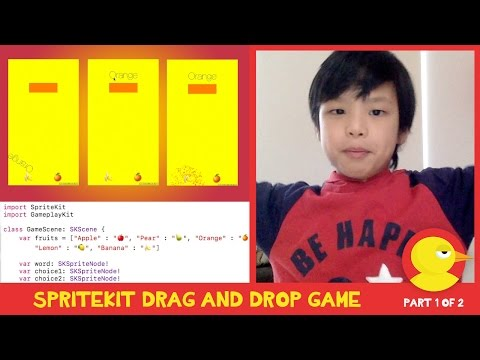 Learn to make an iPhone quiz game with SpriteKit and Xcode  - Part 1
