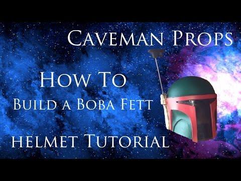 StarWars Boba Fett helmet build tutorial Part 1